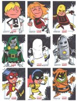 Marvel Universe Sketchcards 11 by thecheckeredman
