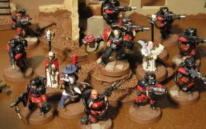 Inquisitorial Warband by gowsk