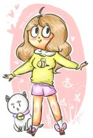Bee and Puppycat by PixieParrot