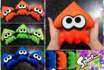 Squid Plushie from Splatoon! by LayzeMichelle