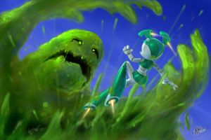 Slime Monster by 14-bis