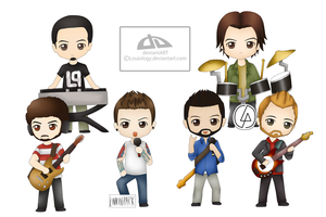 Linkin Chibis by Louiology