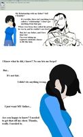 Ask Elizabeth Kimbly- Father Daughter relationship by peppermix14