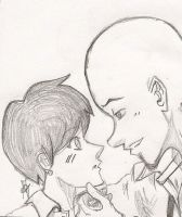 Megamind and Roxanne - sweet moment 2 by Arika27