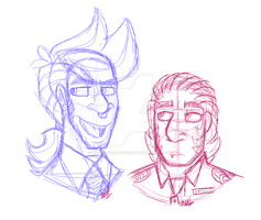 i can draw headshots but not much else by HardboiledDefective