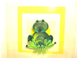 Aug.07, Sitting Frog by eidatwong