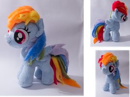 filly Rainbow Dash by mmmgaleryjka