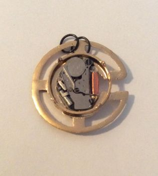Watch necklace pendant by MysticMyster