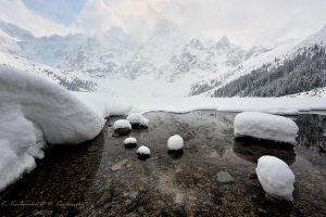 First days of spring over Morskie Oko by Dark-Raptor