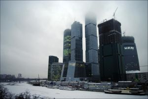 Moscow-City by visualprox