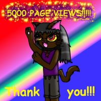 5000 Page views!!!! by LaLaLaNiceLady