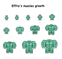 Effra's muscles growth by Effra-Bulbizarre