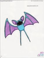 Zubat by kittyk2000