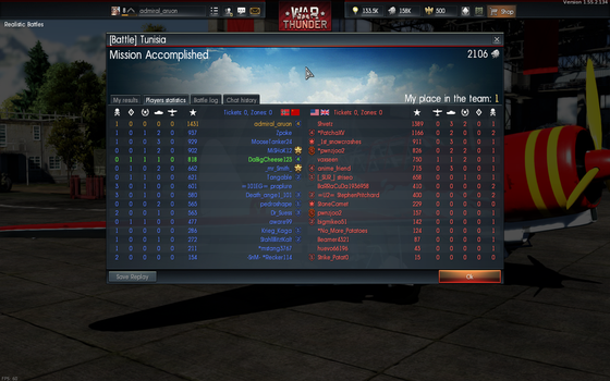 I Take No Pride In This - a war thunder victory by aruon