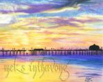Huntington Beach by disdaindespair