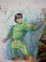 Rock Lee by darkchapolin