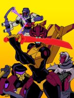 4 out of 5 Stunticons by strangefour