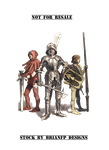 Medieval Knight and squires group.png. by BrianFP