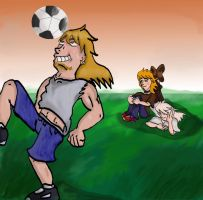 Soccer Practice by QweXTheXEccentric