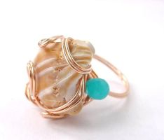 Swept Away ring by sojourncuriosities