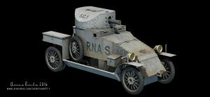 Lanchester Armoured Car - Copper State Models by rOEN911