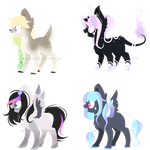 ~Adoptable~ Pony 117-118-119-120 :CLOSED: by Xanty-Adopts