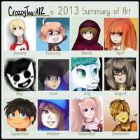 2013 Art Summary by FrenchiestToast
