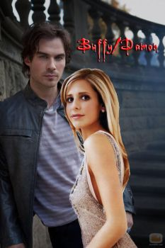 ~Damon/Buffy~ by TheElegantFaerie