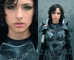FemShep Makeup by AngelaBermudez