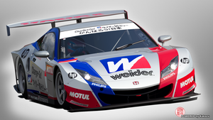 Weider Honda HSV-010 GT by kakazuracing