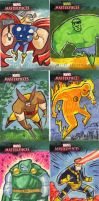Marvel Masterpieces 7 by JeffVictor