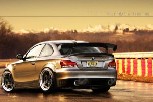 Time Attack BMW 135i by EvolveKonceptz
