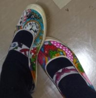 My school shoes by loveandpeacetotoro