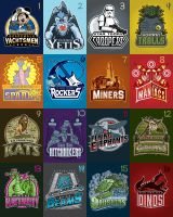 Walt Disney World Sports Teams by Xelku9
