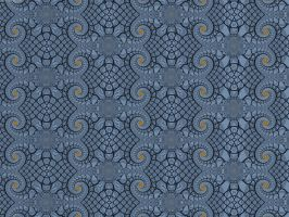 Repeating Pattern with Spirals by element90