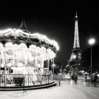 Paris Carousel by xMEGALOPOLISx