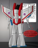 Starscream' secret scoreboard by merigwen