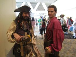 Otakon 11: Sparrow and Turner by RJTH