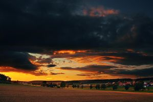 evening scene by PatrickRuegheimer