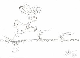 Giant rabbit by MrVava63