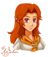 Quick sketch: Malon by Tee-J