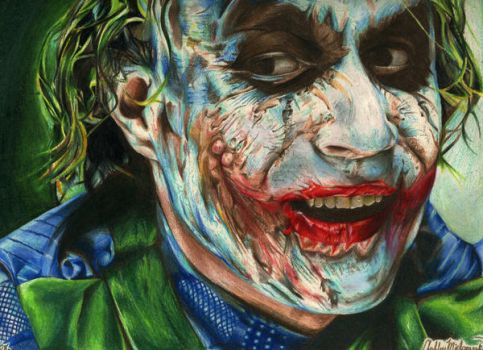 Why So Serious? Portrait by SketchbookFlavor