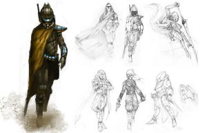 fremen warrior by Remi-Roundtree