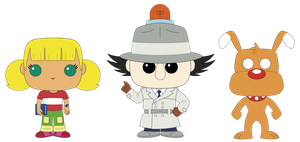 Inspector Gadget POPs Custom Design by PolarStar