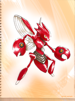 Scizor by Spilled-Sunlight