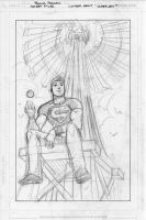 secret files: Superboy pencils by manapul