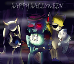 Happy Halloween-OC collab by danituco