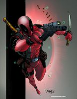 Deadpool by commanderlewis