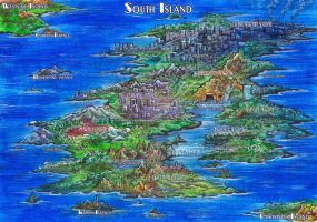 South Island - Map (Sonic ChotGH version) by Liris-san
