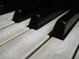 Stock Steinway Keys 15 by darlingstock